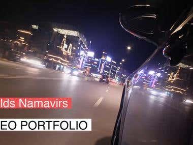 Video portfolio
