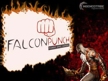 Falcon Punch Logo For Gaming Forum