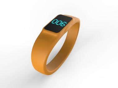 digital wrist bands