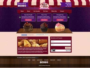 Bakery Website