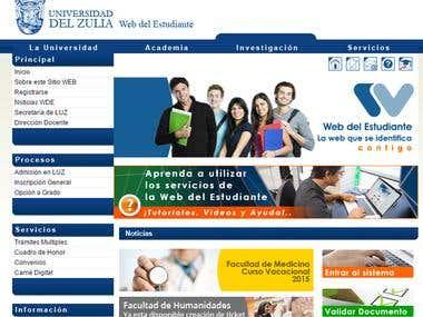 Web del Estudiante