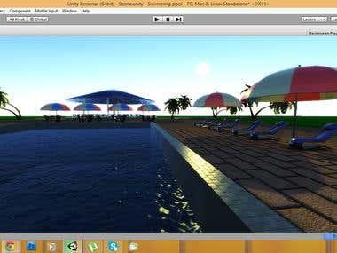 Unity3D Pool Scene