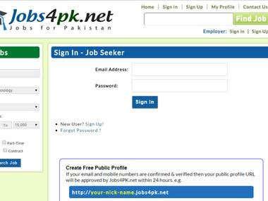 Jobs4PK.net