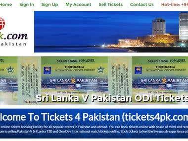Tickets4PK.com