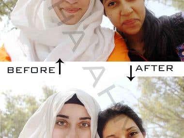Photoshop editing/ retouching
