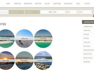 Dwell Website Development