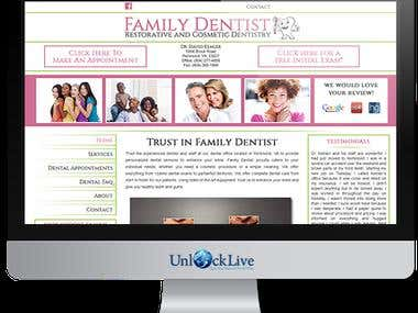 Wordpress : Home-FamilyDentist