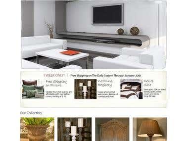 Website Design - Sample 1