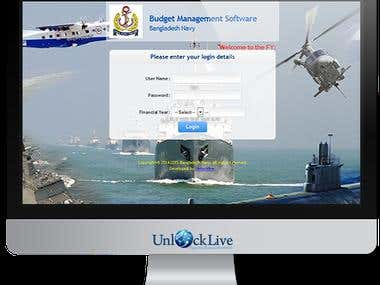 Bangladesh-Navy-Budget-Management-Software
