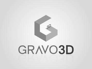 Gravo 3D Logo/Icon