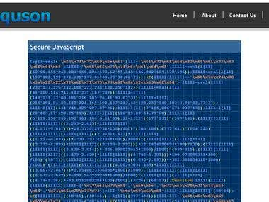 JavaScript Obfuscator Service