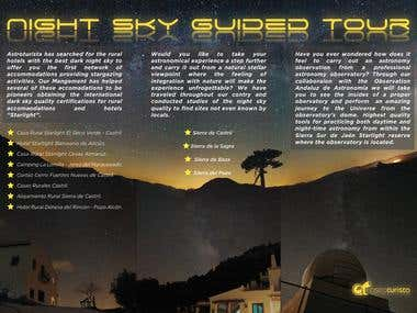 Brochure for AstroTurista