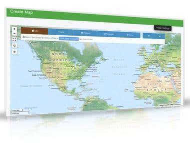 MapFig - A tool to design a Customized Map