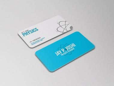 BUSINESS CARD - TEACHER