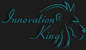 Innovation King Logo Design