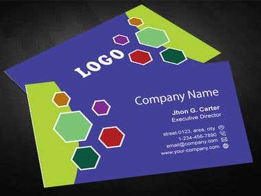 Creative Business Card V01