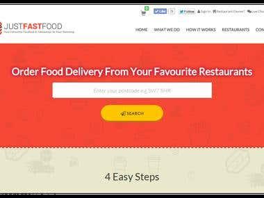 Online FastFood Order & Delivery