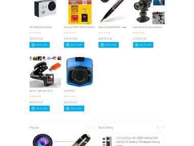 Drupal E-commerce/online store