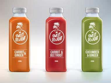 Award winning - Juice - Logo + Packaging Design