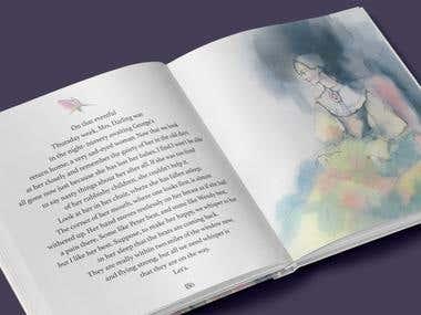 Illustrations For Peter Pan in Kensington Gardens