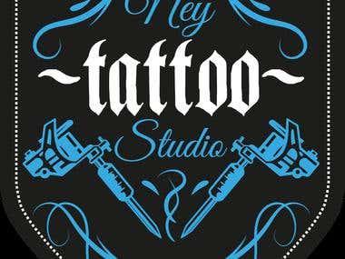 Logotipo Ney Tatoo