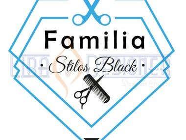 Logotipo Familia Stilos Black