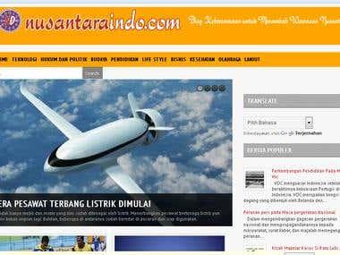 Design Template + Blogger www.nusantaraindo.com