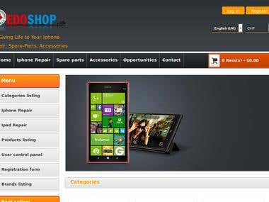 Online Mobile Shop