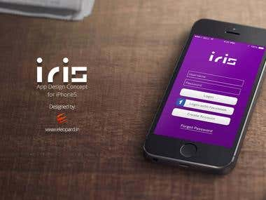 Iris Iphone App Design