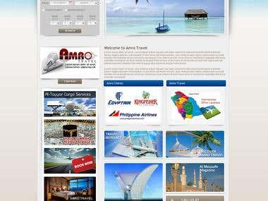 Traveling Web site Design