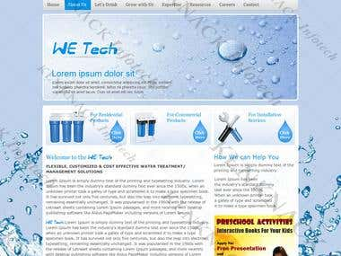 WE Tech, an environmental consultancy portal