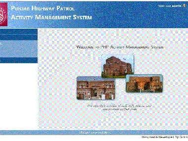 Post Activity Management System - Punjab Highway Patrol Paki