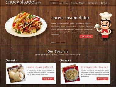 Snacks Kadai, an online snacks store