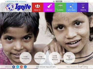 Ignite, a NPO portal