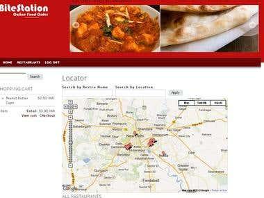 Drupal commerce site - online food order