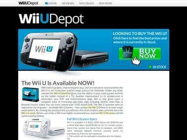 Wii U Depot