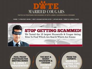 Web Design Date Married Cougars