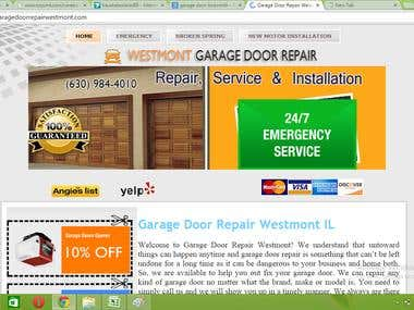 Westmont garage DoorRepair
