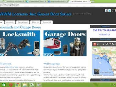 Locksmith Website