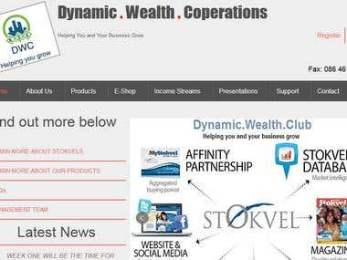 Dynamic Wealth Coperation