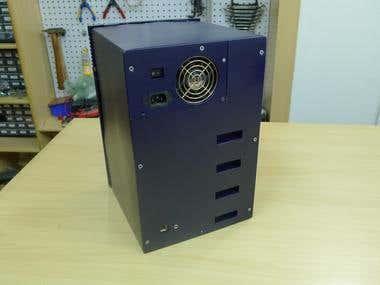 Custom PC chassis prototype