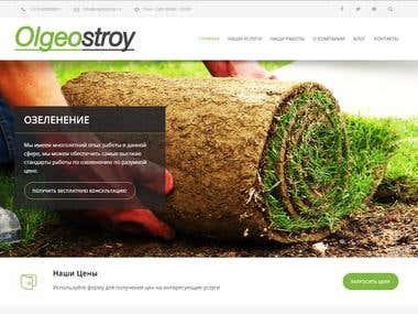 Olgeostroy.ru website