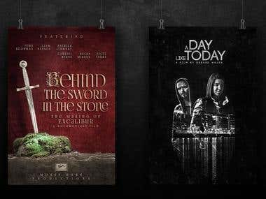 Behind The Sword In The Stone and A Day Like Today Posters