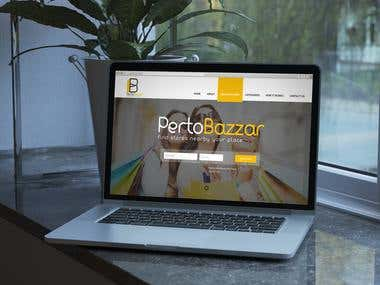 Branding For PertoBazzar