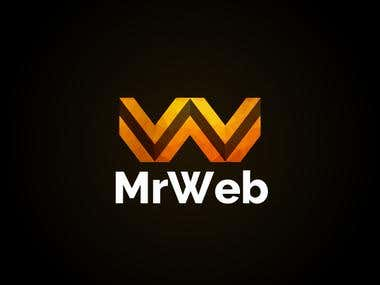 Mr Web Logo Design