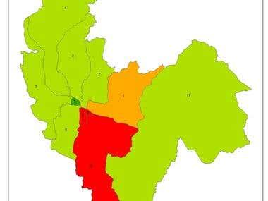 GIS Mapping of Earthquake Damage