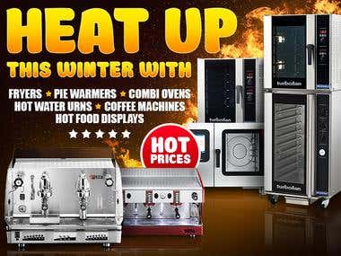 """Heat up\"" for Alpha Catering Equipment"