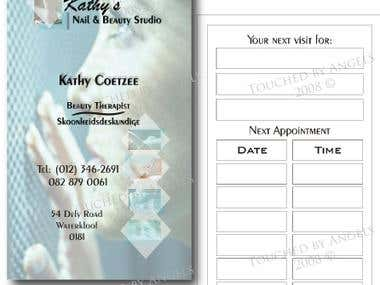 Business Card 1 - Double Sided