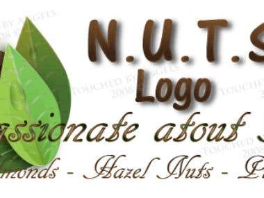 Nuts Logo Design