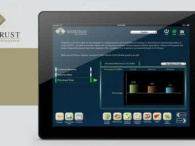 Wealth Management iPad App